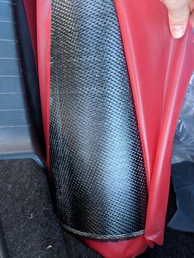 carbon fiber prepreg from aerospace for recycling