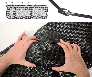 Fibrflex thermoplastic prepreg