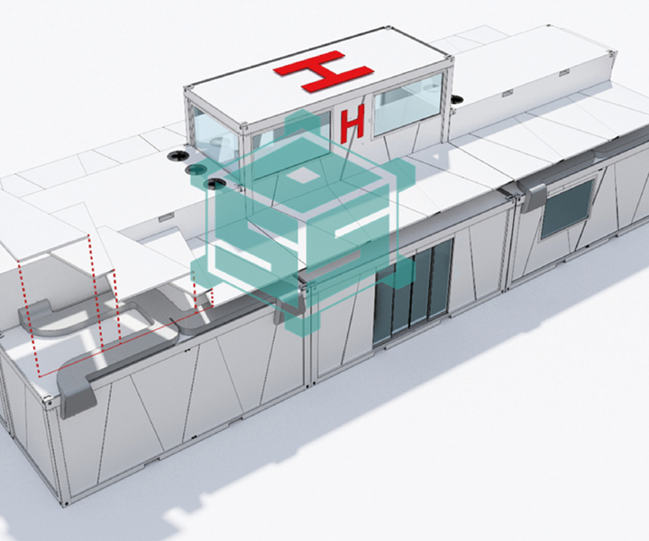 Smart Operating Shelter SOS project example of mobile hospital