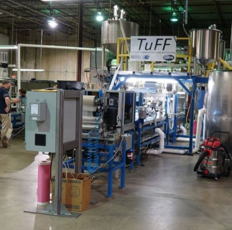 Tailored universal Feedstock for Forming (TuFF) pilot plant alignment