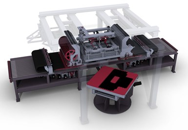 FILL Gesellschaft MultiLayup System for automated composite preforming