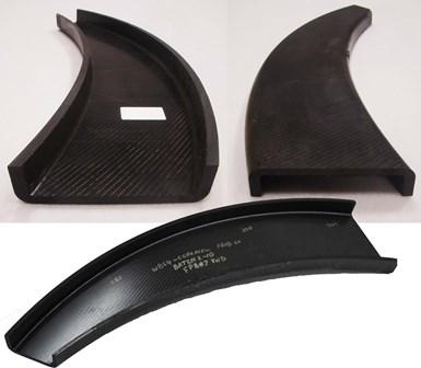 RI-RAPM-003 curved C-channel parts