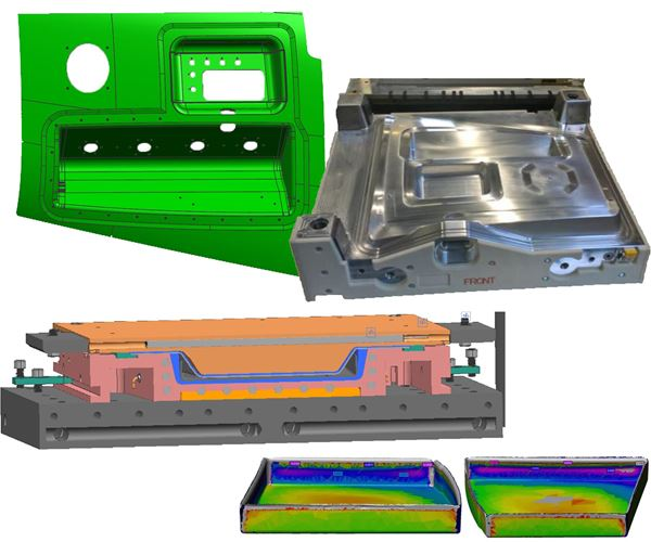 Manufacturing the complex geometry parts of RAPM image