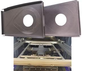 Novel prepreg for compression molding in RAPM