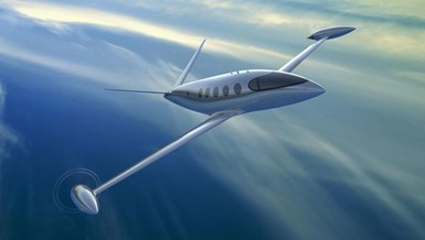 Alice all-electric aircraft