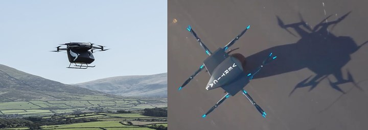 Vertical Aerospace Serpah evtol aircraft