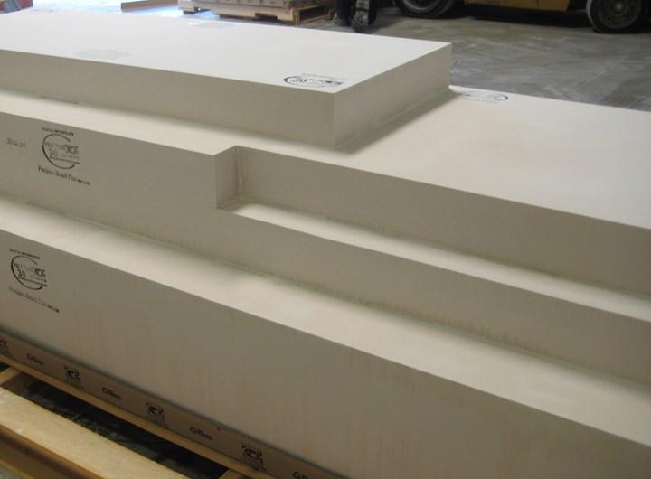 custom-bonded tooling board block