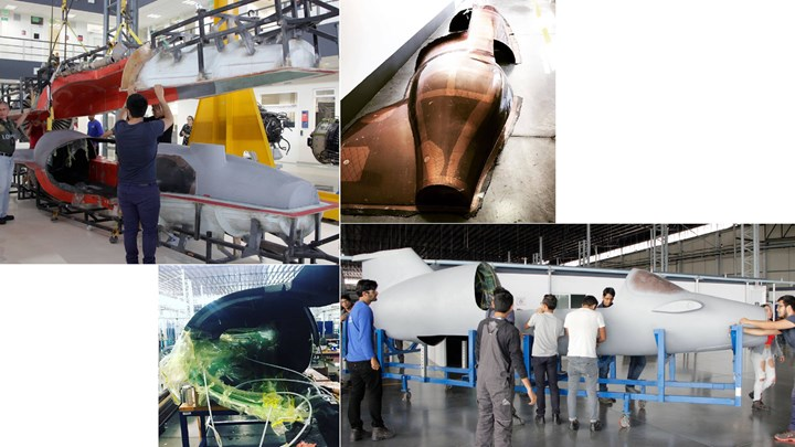 RHEM Composites producing CFRP fuselage for P-400T aircraft
