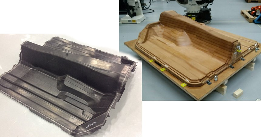 AZL亚琛iComposite 4.0项目演示车汽车底板