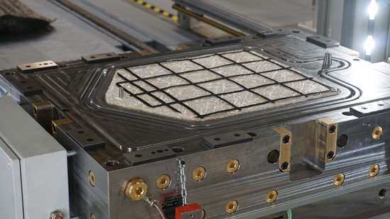 AZL Aachen iComposite 4.0 project UD carbon fiber grid AFP