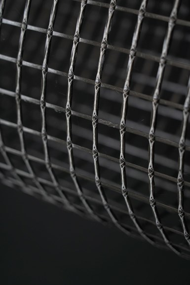 carbon fiber lattice grid for reinforcing concrete