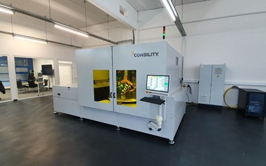 Conbility PrePro 2D produces in-situ consolidated composite tailored blanks