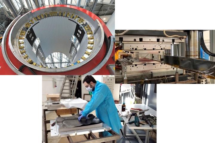 Leonardo Aerostructures composites CETMA R&D lab