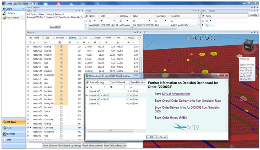 ZAero项目决策支持工具DST视图的机器操作员