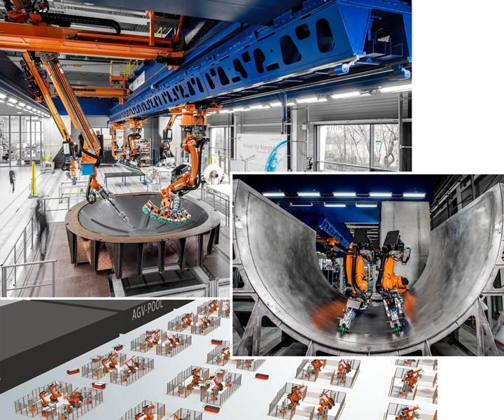 Composites 4.0 automation platform
