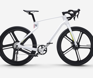 carbon fiber composite 3D-printed bicycle