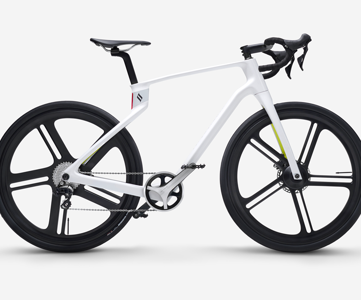 Superstrata 3D-printed composite bicycle from Arevo