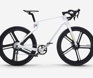 carbon fiber composite 3D-printed bicycle