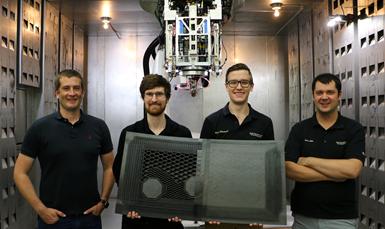 Electroimpact SCRAM team members