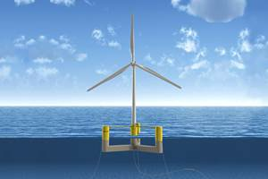 UMaine develops collaborative floating offshore wind demo project