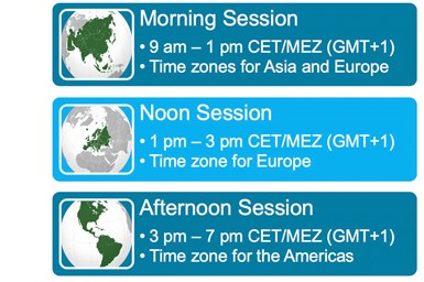 ITHEC 2020 sessions and time zones