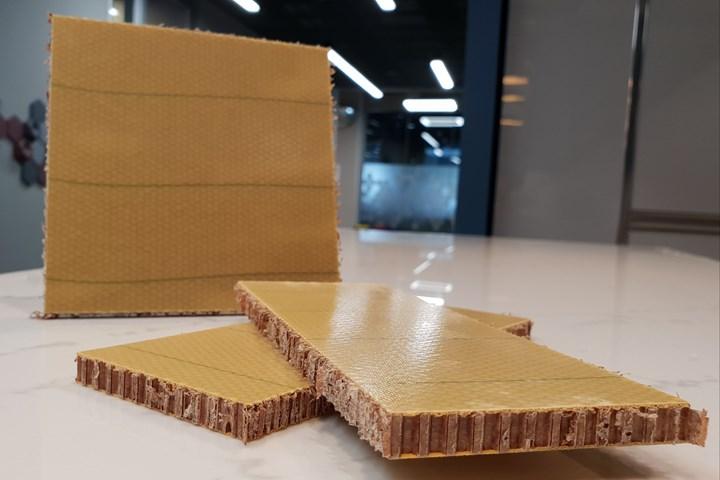 Kordsa honeycomb panels