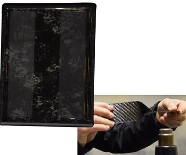 Cecence thermoplastic epoxy