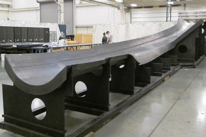 carbon fiber tooling Janicki CAMX 2020