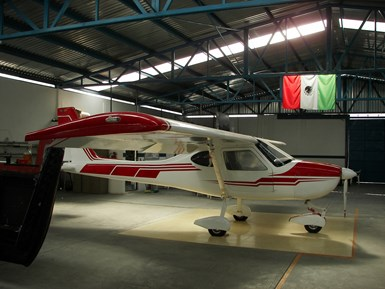 Aeromarmi'sStela-MI two-seat trainer aircraft