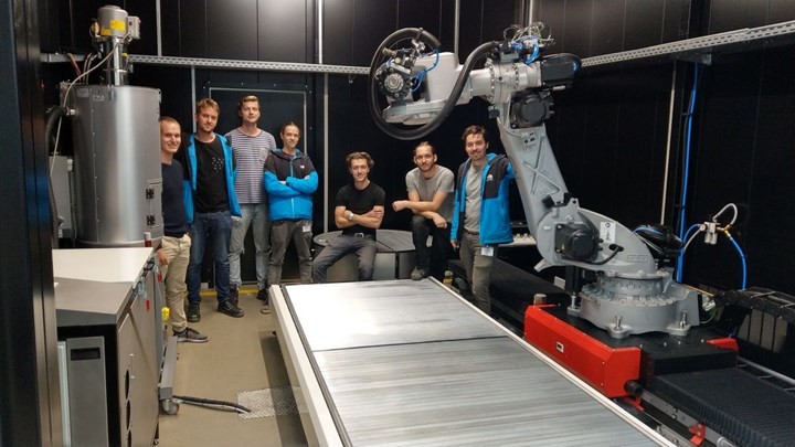 CEAD AM Flexbot 3D printer installed at LCC TU Munich