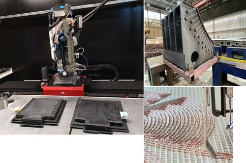 3D printing CFRP molds for RTM flaperon, exoskeletons and more