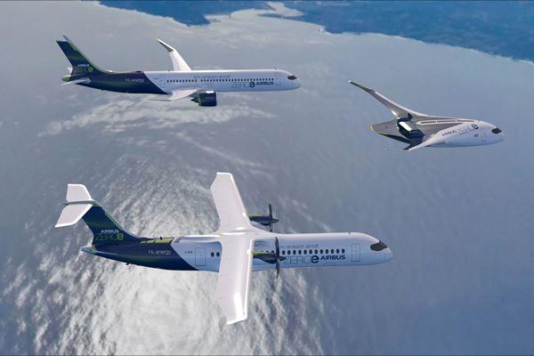Airbus reveals new zero-emission concept aircraft image