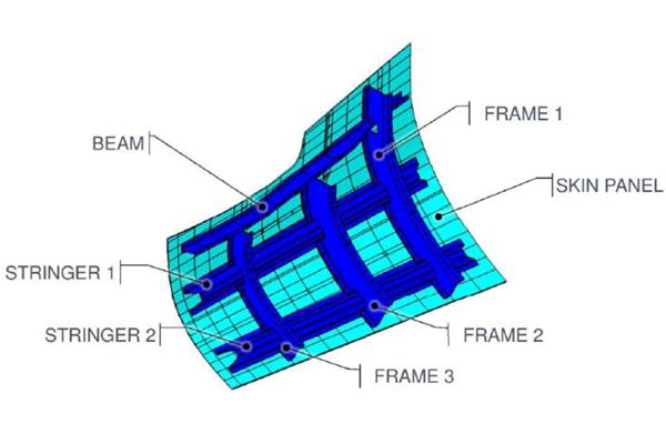 Clean Sky 2 FRAMES项目利用氙气闪光灯图像对热塑性复合材料AFP进行加热模拟