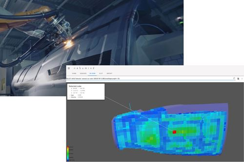 nebumind software for digital product twin and analysis from manufacturing data