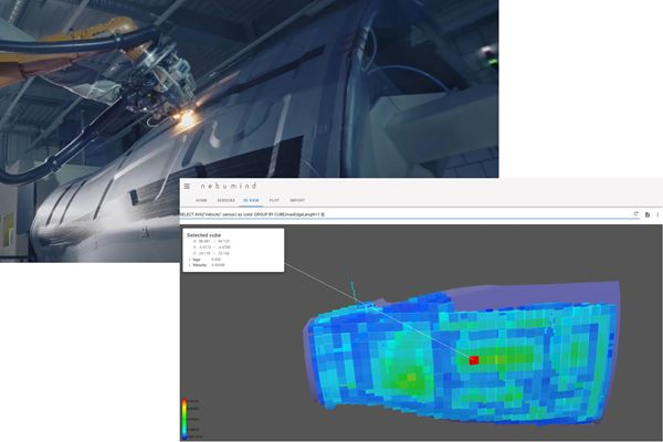 Using sensor data to improve composite parts and processes  image