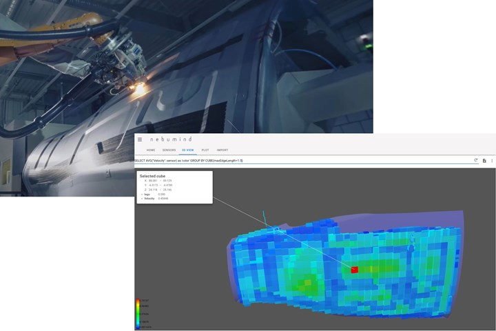 nebumind software for digital product twin from manufacturing data