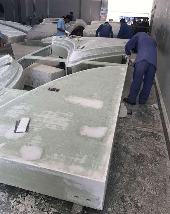 Affan Innovative Solutions prepare composite panels for adhesive bonding