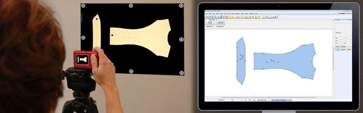 digitizing composites reinforcement pattern