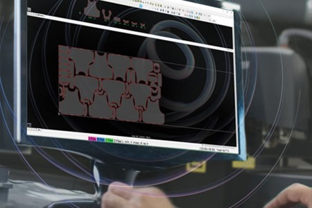 Gerber Technology nesting software