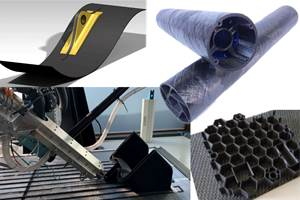 Future composite manufacturing - AFP and Additive Manufacturing