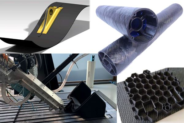 Future composite manufacturing - AFP and Additive Manufacturing image