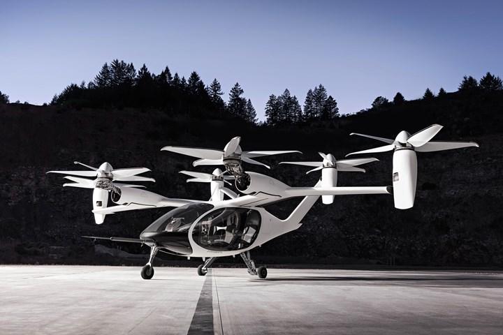Joby Aviation's unnamed UAM