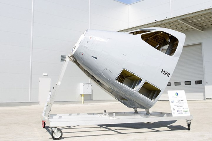 Clean Sky full-scale small aircraft cabin