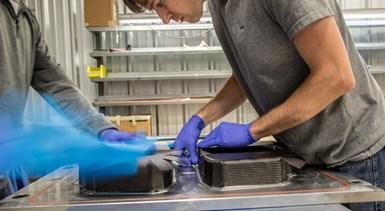 Innovative Composites Engineering fabrication