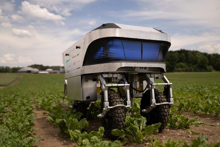 3D printed carbon fiber composites for agricultural robot