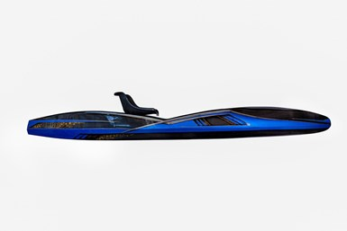 Apex Watercraft Tyr stand-up fishing kayak