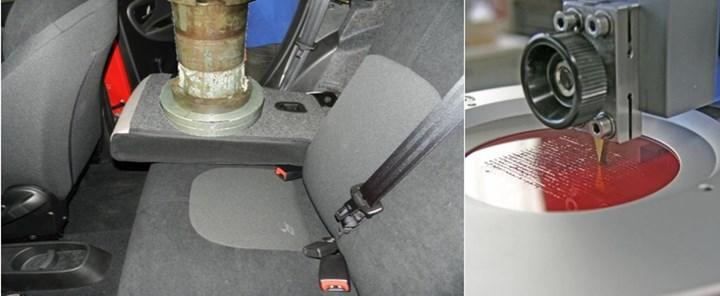 开发一种生物基复合汽车后排座椅