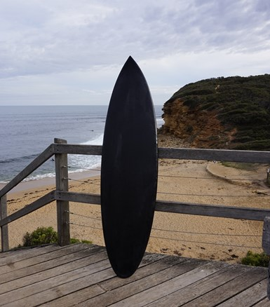 recycled carbon fiber surfboard