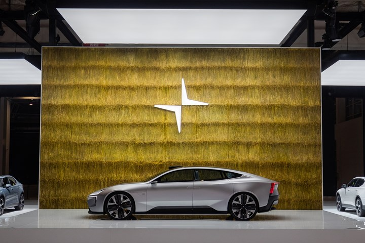 Polestar Precept battery electric vehicle