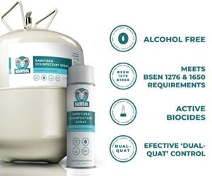 GRP Solutions releases biocide disinfecting spray